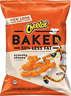 Oven Baked Cheetos Cheese Snacks, Crunchy, 7.65 oz