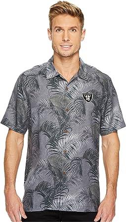 Tommy Bahama - Oakland Raiders NFL Fez Rounds Shirt