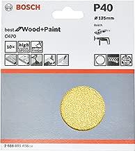 Lixa P Esmerilhadeira Bfwood 125 mm, Bosch 2608605438-000, Vermelho