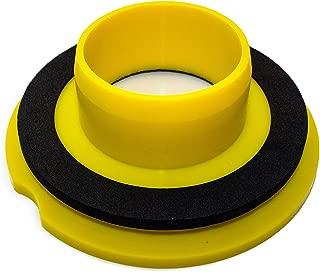Leakno Gasket - Wax Free Toilet Seal   Toilet seal   Toilet Gasket Seal   Toilet Seal, Waxless Toilet Ring   Universal Kit + Hardware Set (1)
