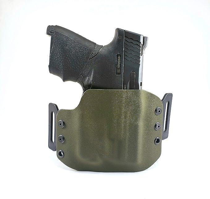 Details about  /Black Kydex IWB Holster for Glock 45 Streamlight TLR-2