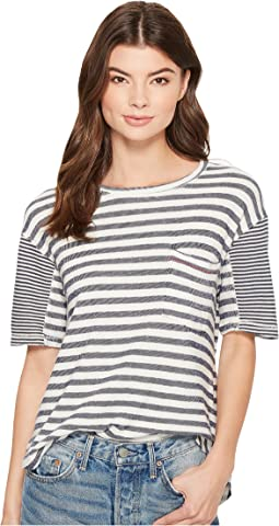 Solana Beach Mixed Stripe T-Shirt