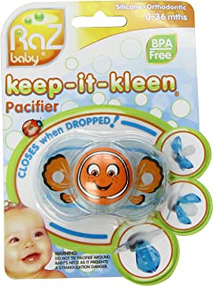 pacifier that closes when it falls