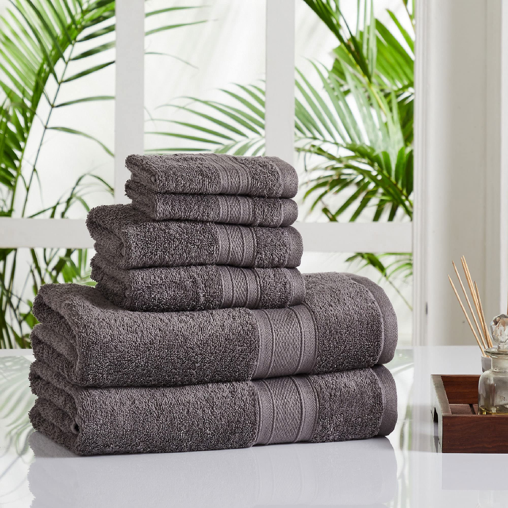 Upto 60% off on  Premium Cotton Towels & Bed Sheets by Trident