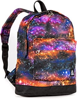 Everest Kids' Junior Pattern Backpack, Galaxy, One Size