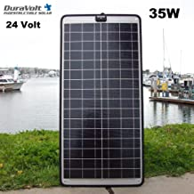 DuraVolt Trolling Motor Charger - 24 Volt solar charger - 35.0 Watt 24V 1A - Plug & Play - for Boats