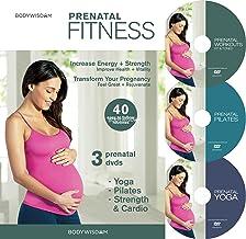 Prenatal Fitness (Deluxe 3 DVD Set – Prenatal Yoga, Pilates & Strength..