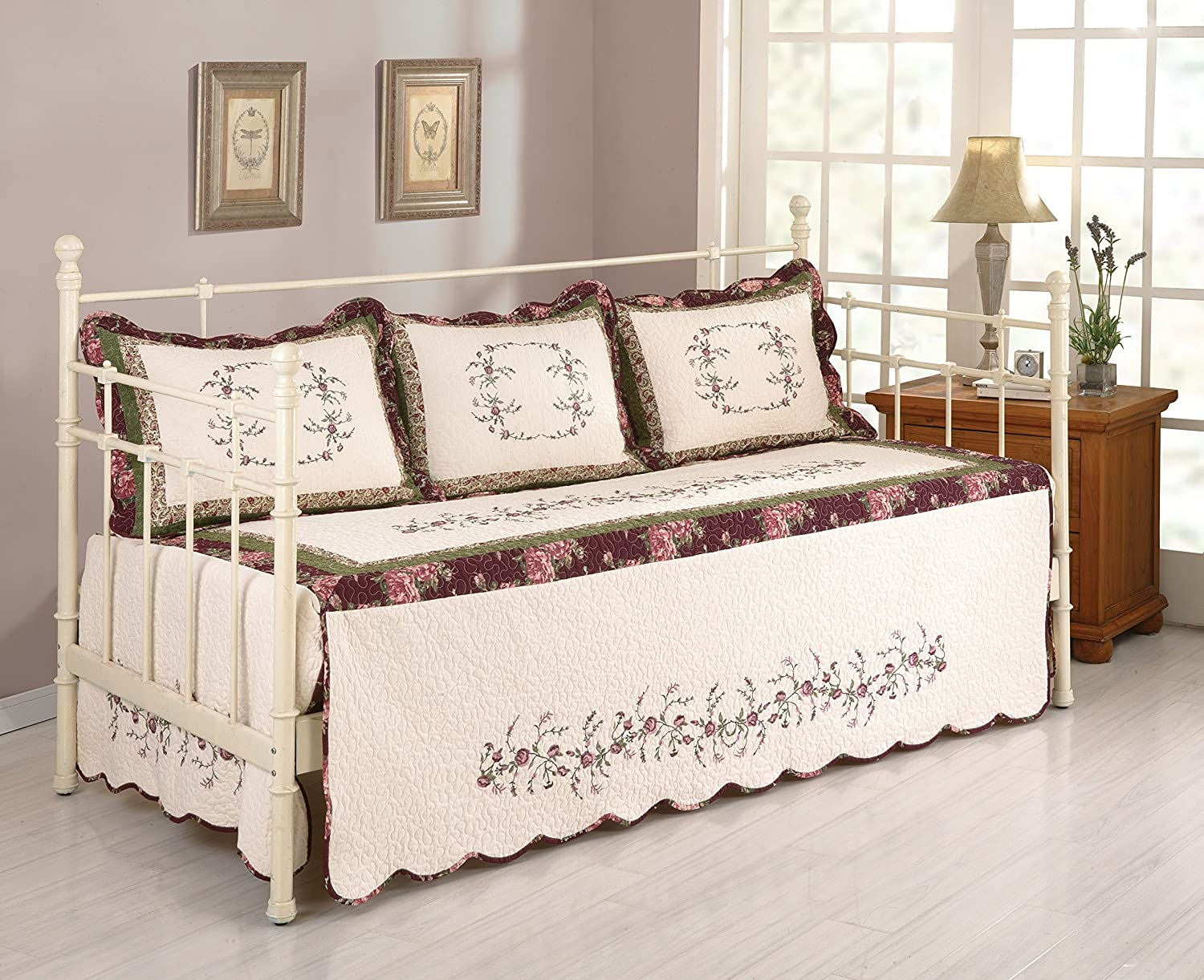 MODERN HEIRLOOM COLLECTION, BROOKE DAYBED COVER