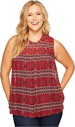 Lucky Brand Plus Size Tucked Tank Top