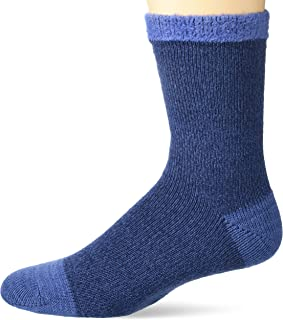 UNIONBAY Mens Fashion Print Crew Charcoal 6-12 Sock Size:10-13//Shoe Size