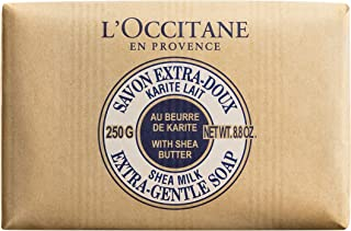 L'Occitane Extra Gentle Soap with Shea Butter, Milk, 250g