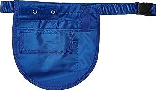 EMI SMALL Nylon Medical Nurse Apron Pocket Organizer with Belt- Select Color (Royal)