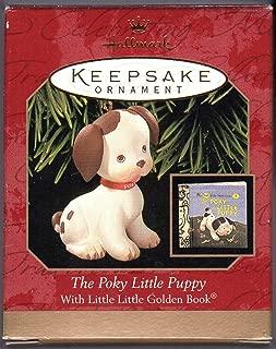 1999 Hallmark Ornament Golden Book The Poky Little Puppy