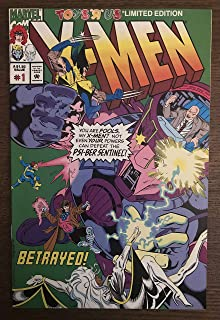 X-Men Toys R Us Exclusive Comic Book. #1 Issue from 1993.