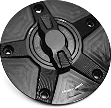 NIMBLE Black CNC Quick Lock Fuel Gas Cap For Ducati ST3 ST4 All Series All Year