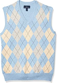 Amazon Brand - Buttoned Down Men's 100% Supima Cotton Sweater Vest