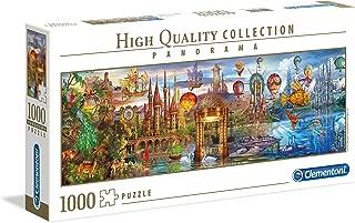 Clementoni Panorama Puzzle Fantasy Panloramic, Multi-Colour, 1000PCS
