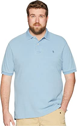 Polo Ralph Lauren Big & Tall Weathered Mesh Short Sleeve Knit