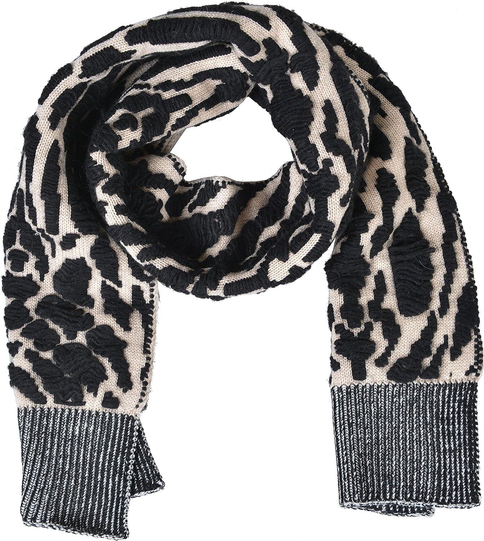 Just Cavalli Unisex Wool Angora Multicolor Scarf