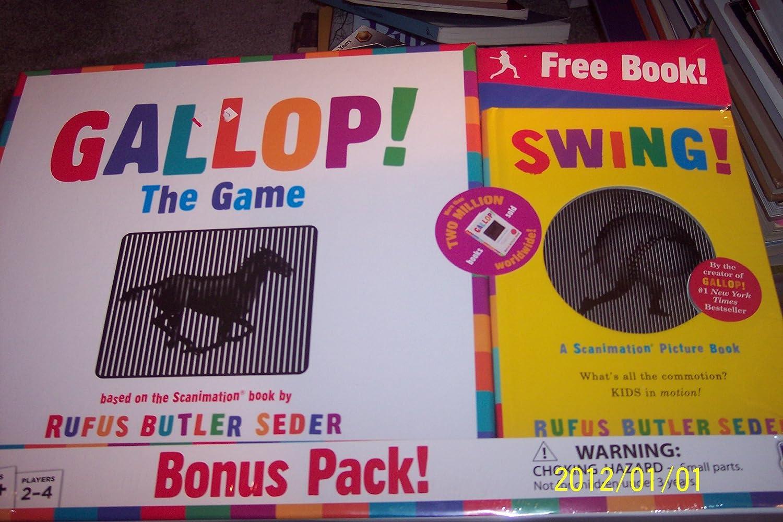 GALLOP  THE GAME BONUS PACK  free scanimation picture book  B006SABFX2 Hohe Sicherheit  | Schöne Farbe