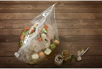 Large Turkey Brine Bags Heavy Duty for Turkey or Ham XL, 2 pack, with Cooking Twine