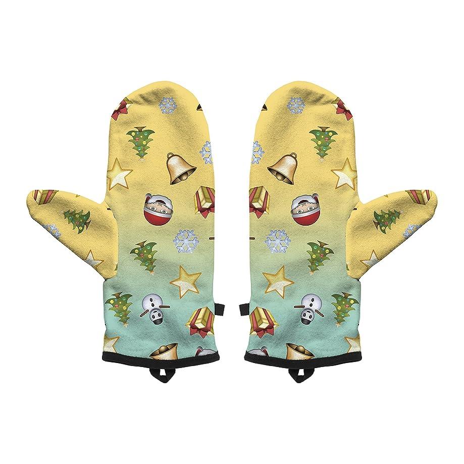Fringoo Baby Boys' Winter Mitten Warm Gloves Cosy Windproof Christmas Pug Cat Small/Medium Xmas Emoji