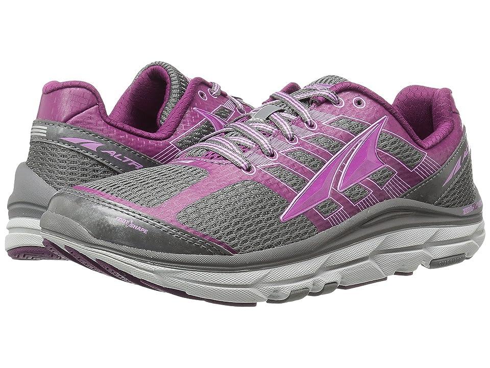 Altra Footwear Provision 3 (Gray/Purple) Women
