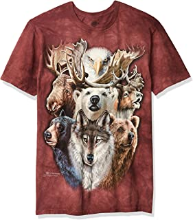 The Mountain Men's Northern Wildlife Collage T-Shirt