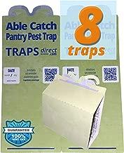 8 Pantry Moth Traps | Effective Non-toxic Pheromone Lure | USA Made | Guarantee