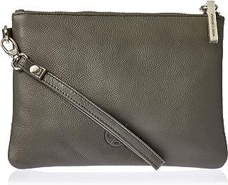 Stitch & Hide Women's Cassie clutch Clutches, Charcoal, One Size