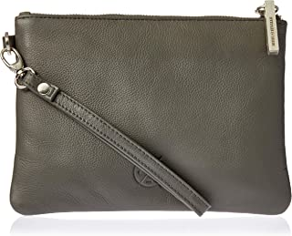 Stitch & Hide Women's Cassie clutch Clutches, Charcoal, One Size