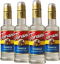Torani Vanilla Syrup 12.7 Ounce, 4 Count