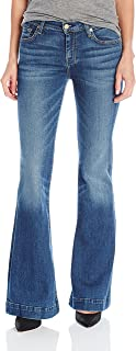 7 For All Mankind - Jeans para Mujer, Talla pequeña, sin Mangas (Entrepierna)