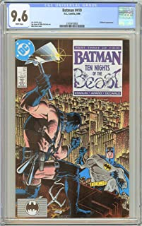 Batman # 419 CGC 9.6 White Pages 1988 2105418002 KGBeast appearance
