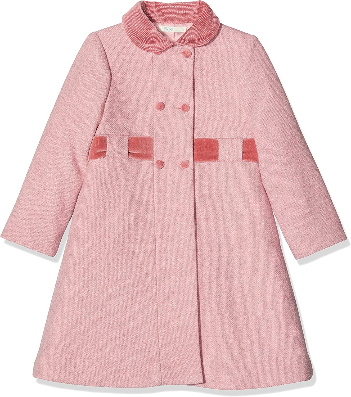 Rigans Girls Abrigo Ondas Costadillo Coat