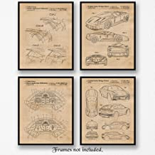 Original Lamborghini Murcielago & Urus Patent Poster Prints, Set of 4 (8x10) Unframed Photos, Great Wall Art Decor Gifts Under 20 for Home, Office, Garage, Shop, Man Cave, Teacher, Cars & Coffee Fan