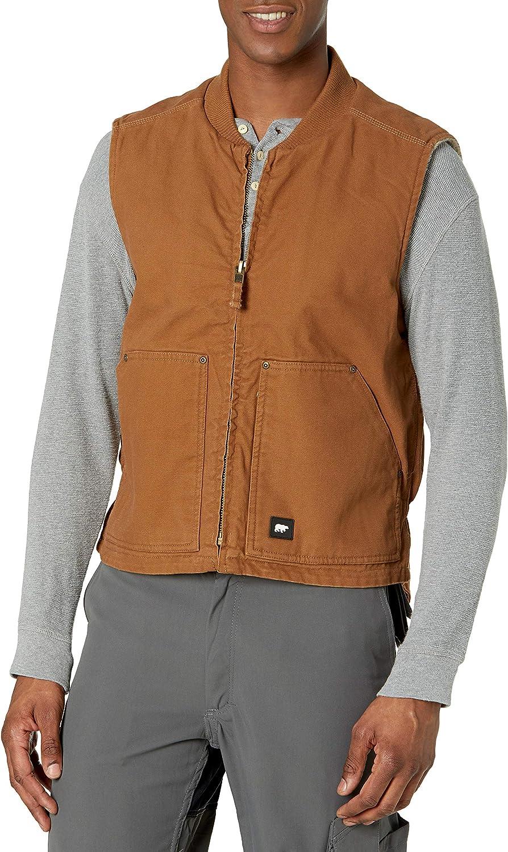 Key Industries Men's Berber Lined Duck Vest