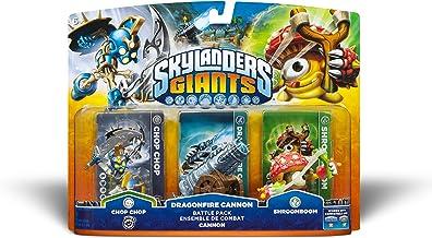 Skylanders Giants Battlepack #1 – Chop Chop – Dragonfire Cannon – Shroomboom