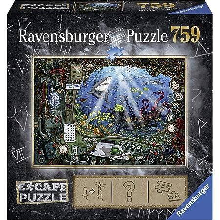 Ravensburger 759 pièces Escape Puzzle sous l'eau Adulte, 4005556199594, Autre