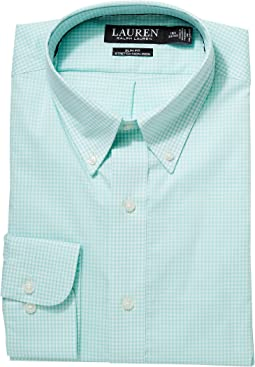 Slim Fit No-Iron Cotton Dress Shirt