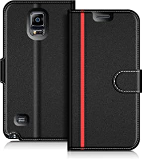 58ccd55af7d COODIO Funda Samsung Galaxy Note 4, Funda Cuero Samsung Galaxy Note 4,  Funda Cartera