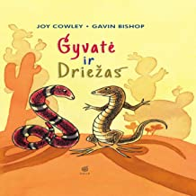 Snake and Lizard (Lithuanian Edition)