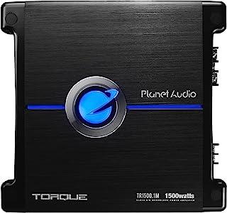 Planet Audio TR1500.1M Monoblock Car Amplifier – 1500 Watts, 2/4 Ohm Stable, Class..