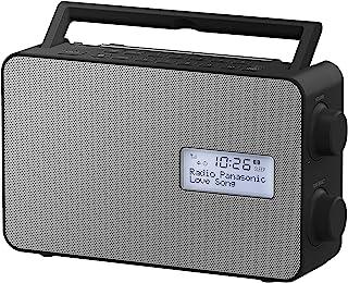 Panasonic Portable DAB+ Digital FM Radio With Bluetooth Speaker (RF-D30BTGN-K)