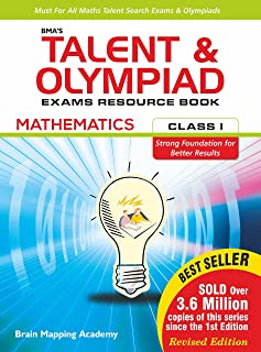 Talent & Olympiad Exams Resource Book-Class-1-Maths