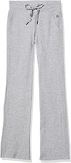 Calvin Klein Performance Women's Thermal Wide Leg Pant, Pearl, XS
