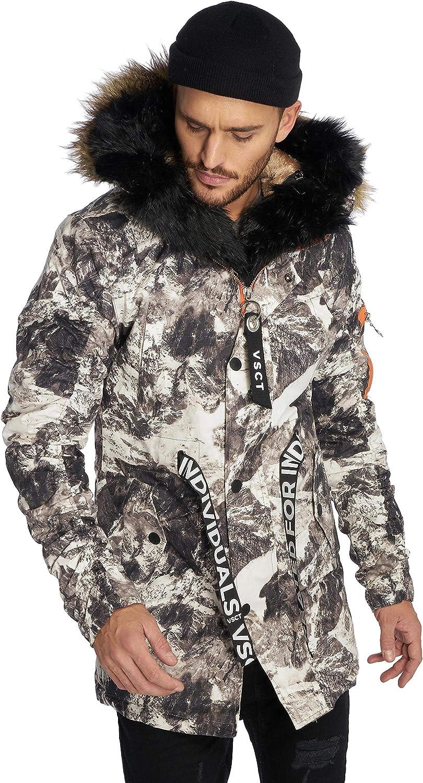 VSCT Clubwear Herren Winterjacken 3 Face Woodland grau S