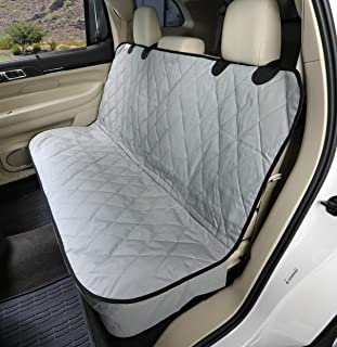4Knines Dog Seat Cover Without Hammock for Cars, SUVs, and Small Trucks – Heavy Duty, Non Slip, Waterproof