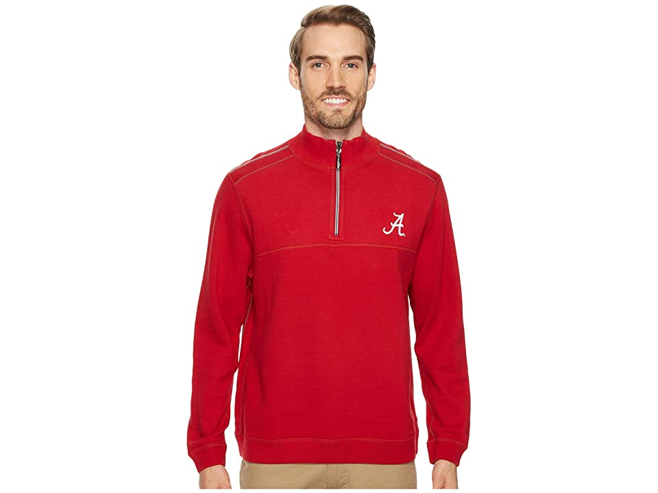 Tommy Bahama Alabama Crimson Tide Collegiate Campus Flip Sweater (University Of Alabama) Men