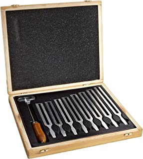 hand2mind United Scientific Octave Tuning Forks, Set of 8